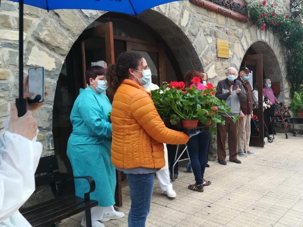 Flores para las residencias
