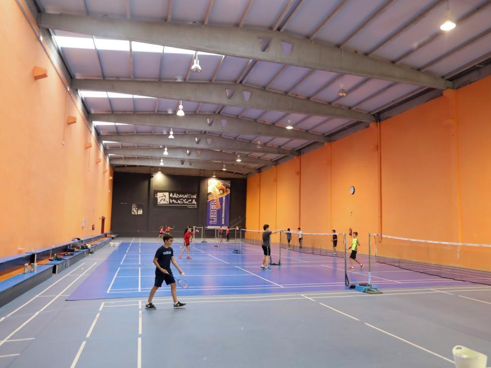 Bádminton Huesca espera con ganas el retorno a la actividad