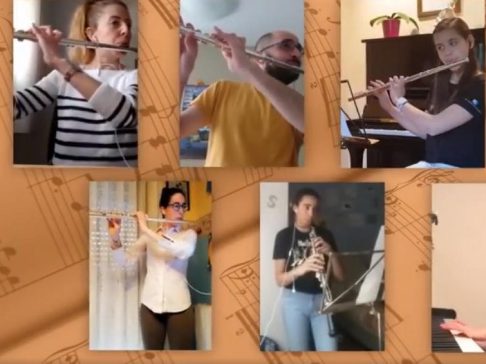 """La Banda Chicotén anima el confinamiento con """"Suspiros de España"""""""