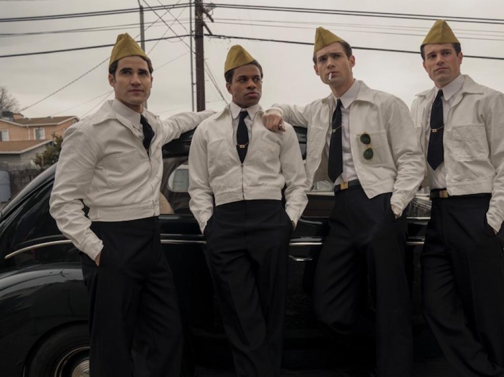 """Darren Criss, actor protagonista de """"Hollywood"""": """"Queríamos contar la parte fea de la belleza"""""""