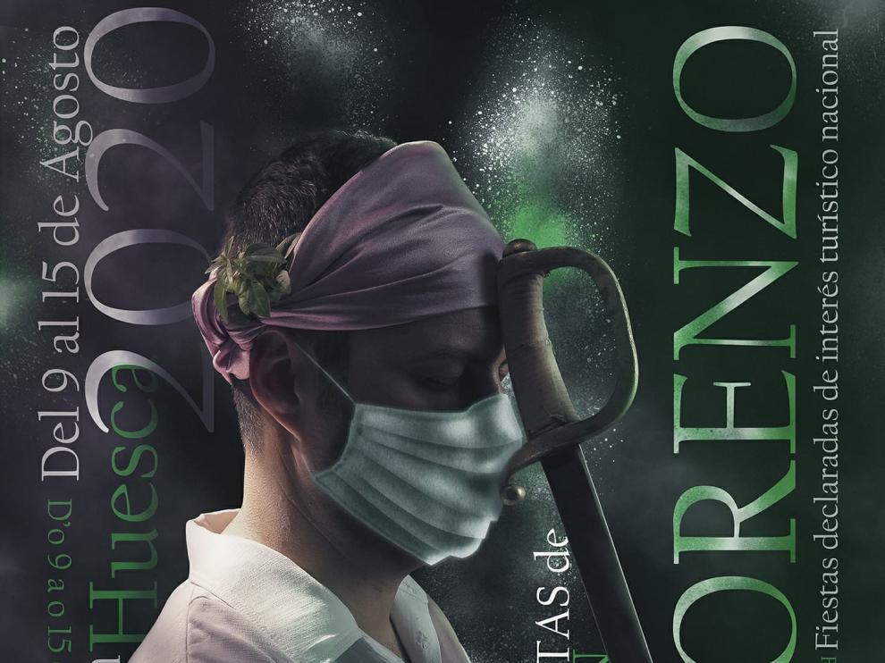"""Sunn reinterpreta su cartel """"Lágrimas de San Lorenzo"""" y lo adapta a estos tiempos de coronavirus"""
