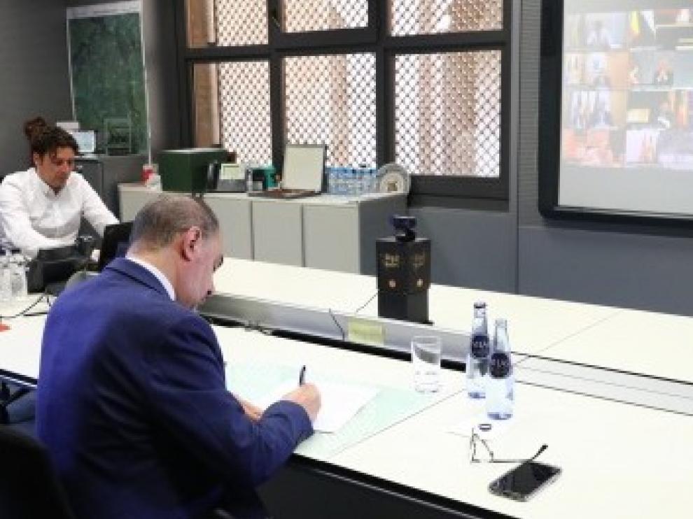 Aragón plantea la necesidad de un plan de rescate de residencias de mayores y medidas para incentivar el turismo