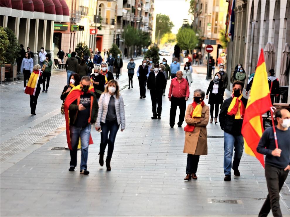 Vox Huesca se desvincula de la acción 'Caminando por Huesca' de este sábado