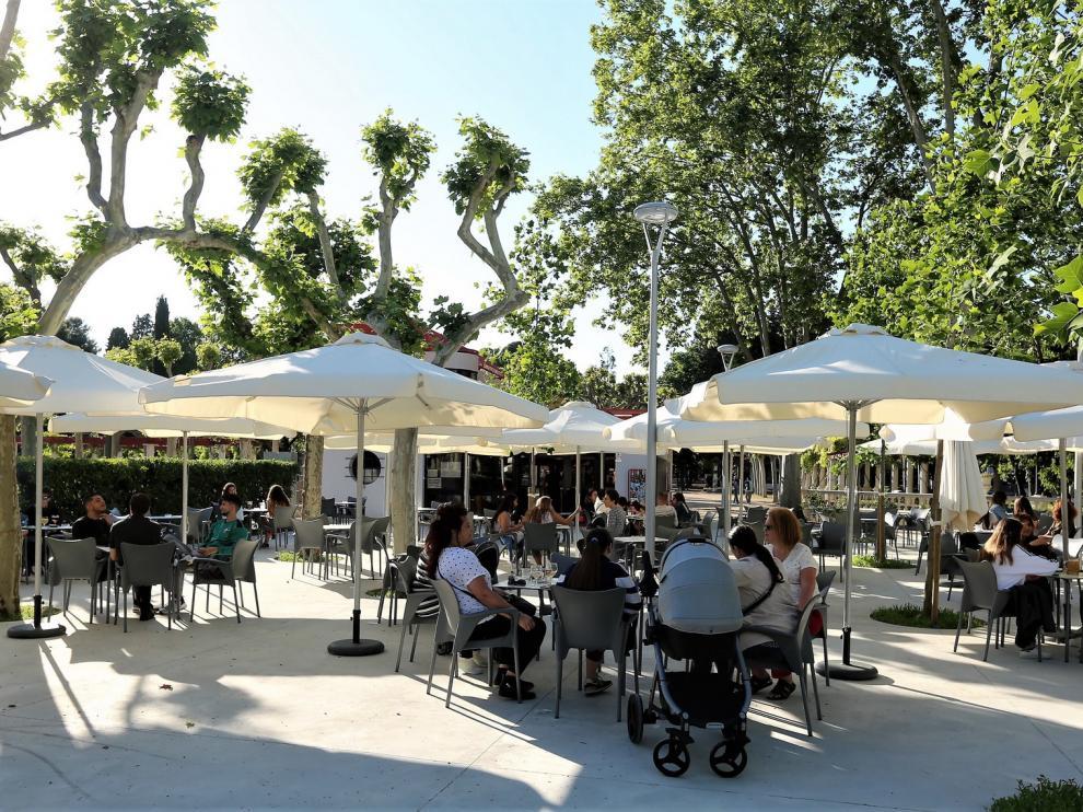 Reabre el Parque Bar de Huesca después de las obras realizadas en los últimos meses