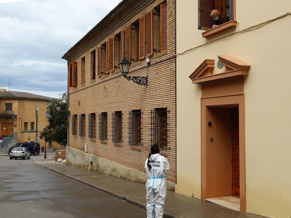 Un caso más en la residencia La Merced de Huesca y la situación sigue estable en Binéfar