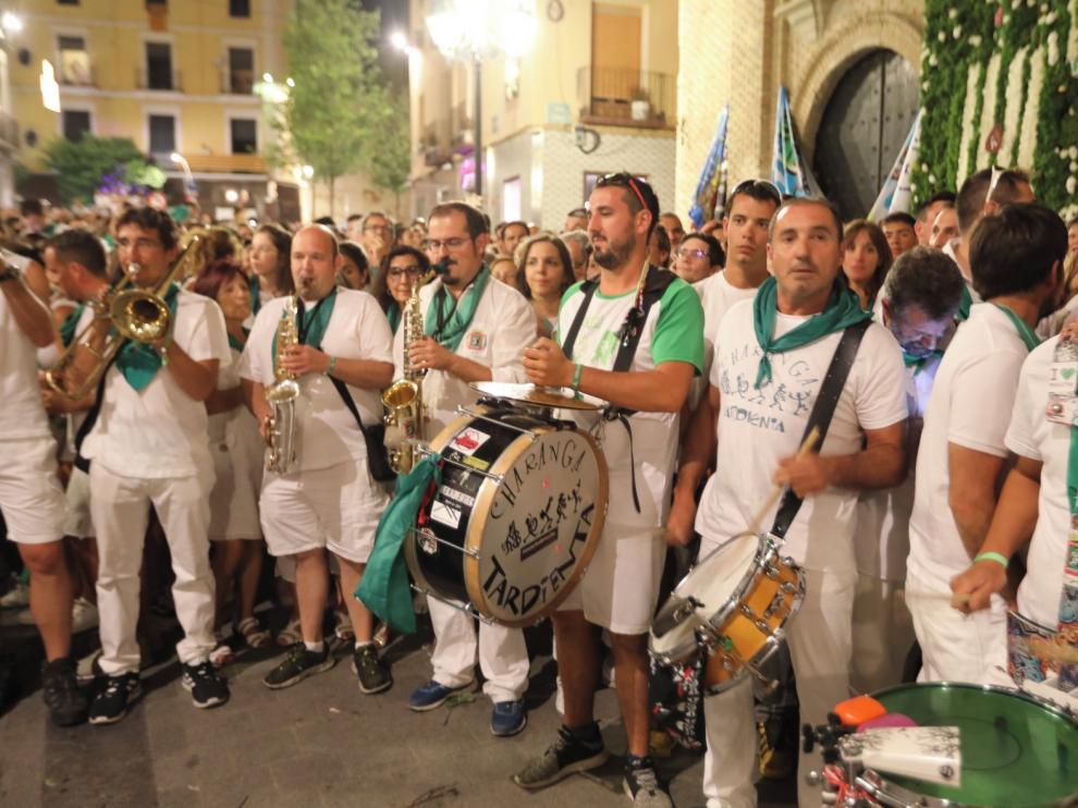 Las charangas se quedan en silencio sin las fiestas de San Lorenzo