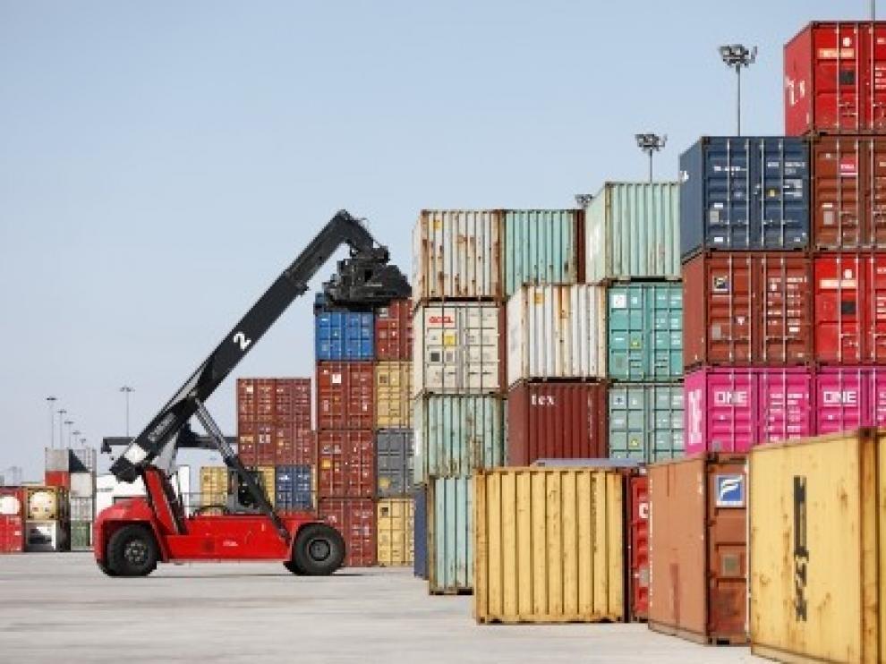 Las exportaciones aragonesas se mantienen por encima de los mil millones en marzo