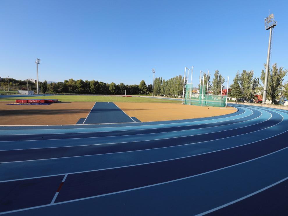 La Ciudad Deportiva de Huesca, para la fase 2