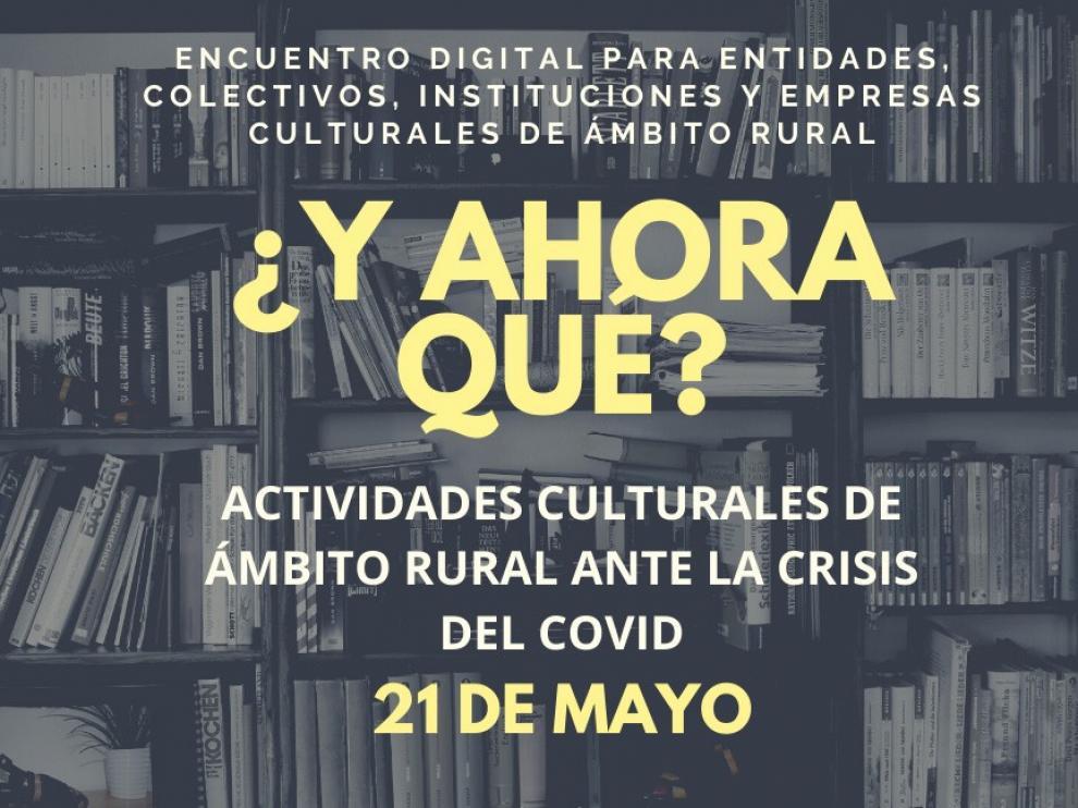 Organizan el primer webinario sobre actividades culturales en el medio rural ante el coronavirus