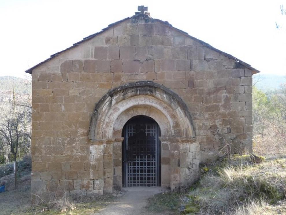 La CHE comienza la restauración de ermitas del entorno de Yesa, medida compensatoria por el recrecimiento del embalse