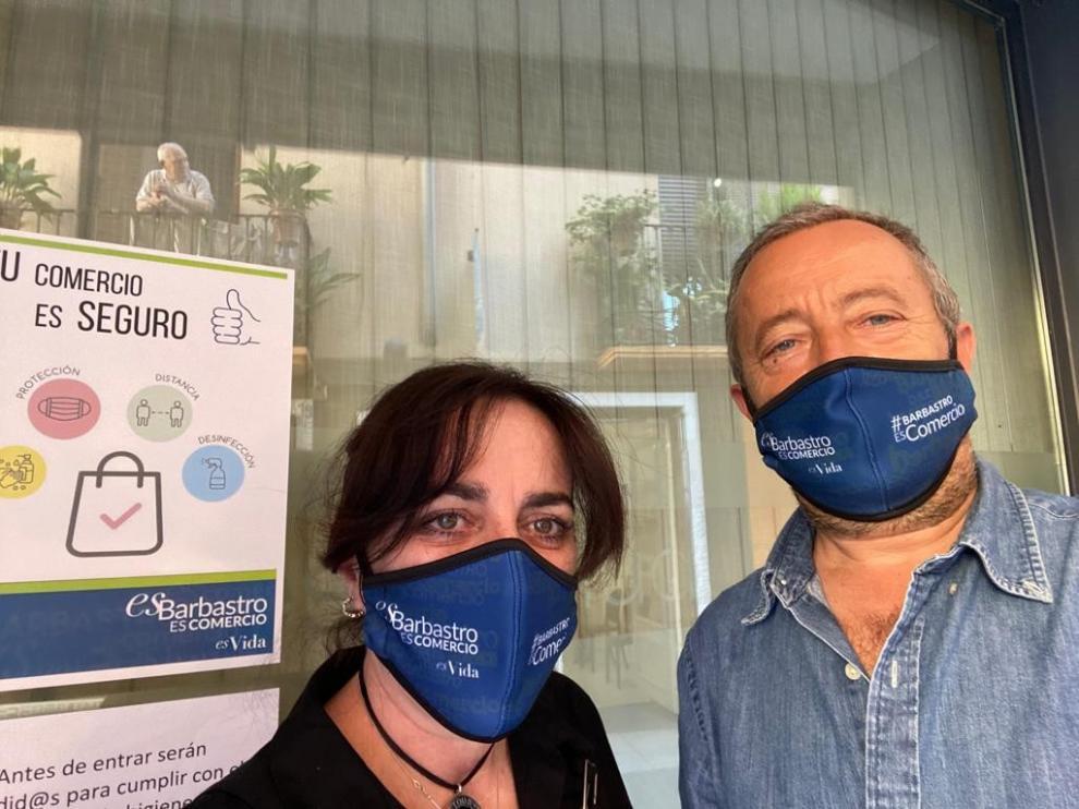 El comercio de Barbastro lanza una campaña de responsabilidad y concienciación