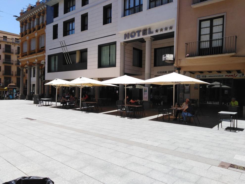 Las acciones del ayuntamiento de Barbastro en favor del sector hostelero son bien valoradas