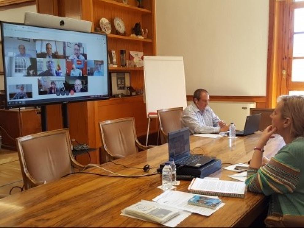 El Grupo Asesor de Economía para el coronavirus analiza el impacto de la crisis sobre el empleo en Aragón