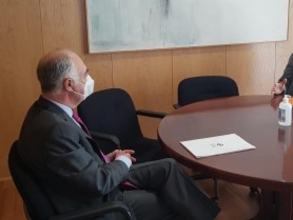 Gobierno de Aragón y Fundación Ibercaja se comprometen a colaborar en acciones en el ámbito de la infancia