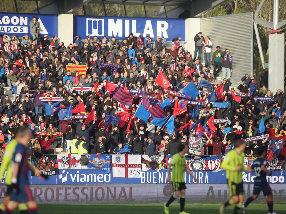 El Huesca un club sin deudas, sin cargas y con patrimonio