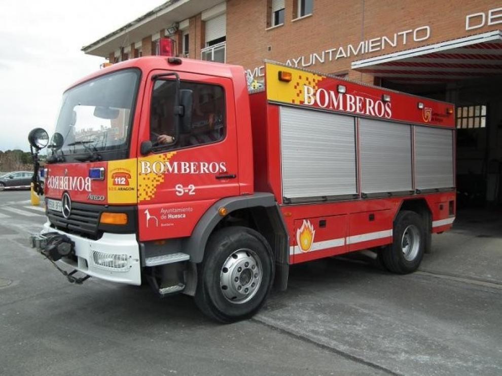 Los Bomberos de Huesca realizaron en 2019 más de 1.300 intervenciones