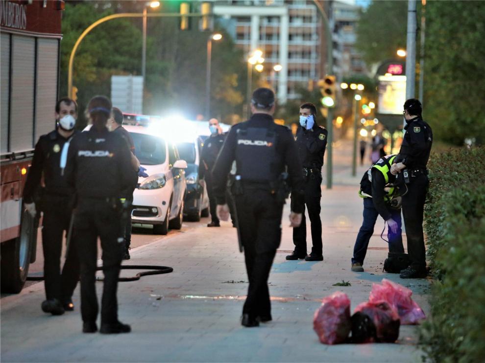 El guardia civil apuñalado en Huesca recibe el alta hospitalaria y se muda al cuartel por indicación sanitaria