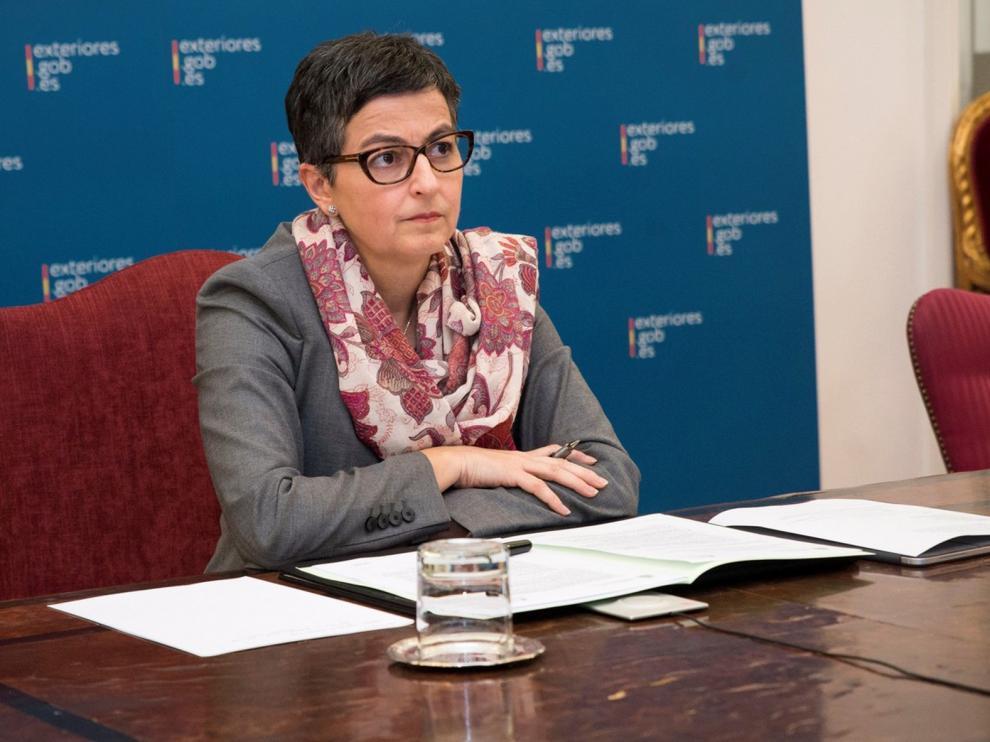 González Laya pide a Londres y la UE que inicien el diálogo