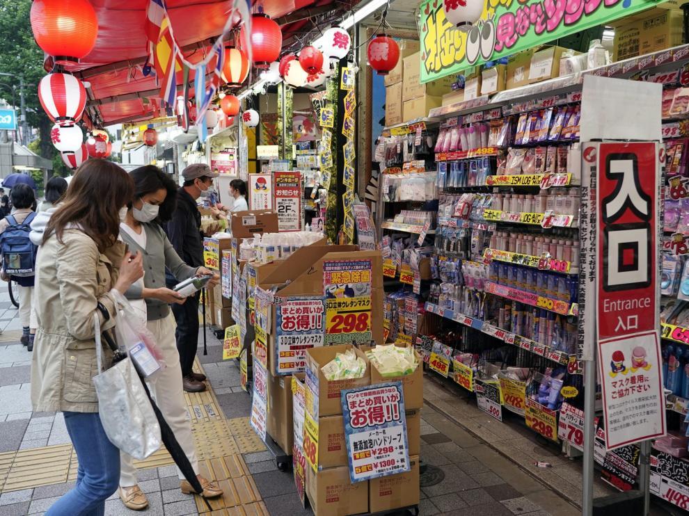 Detenidos dos españoles en Japón por el supuesto robo en un supermercado