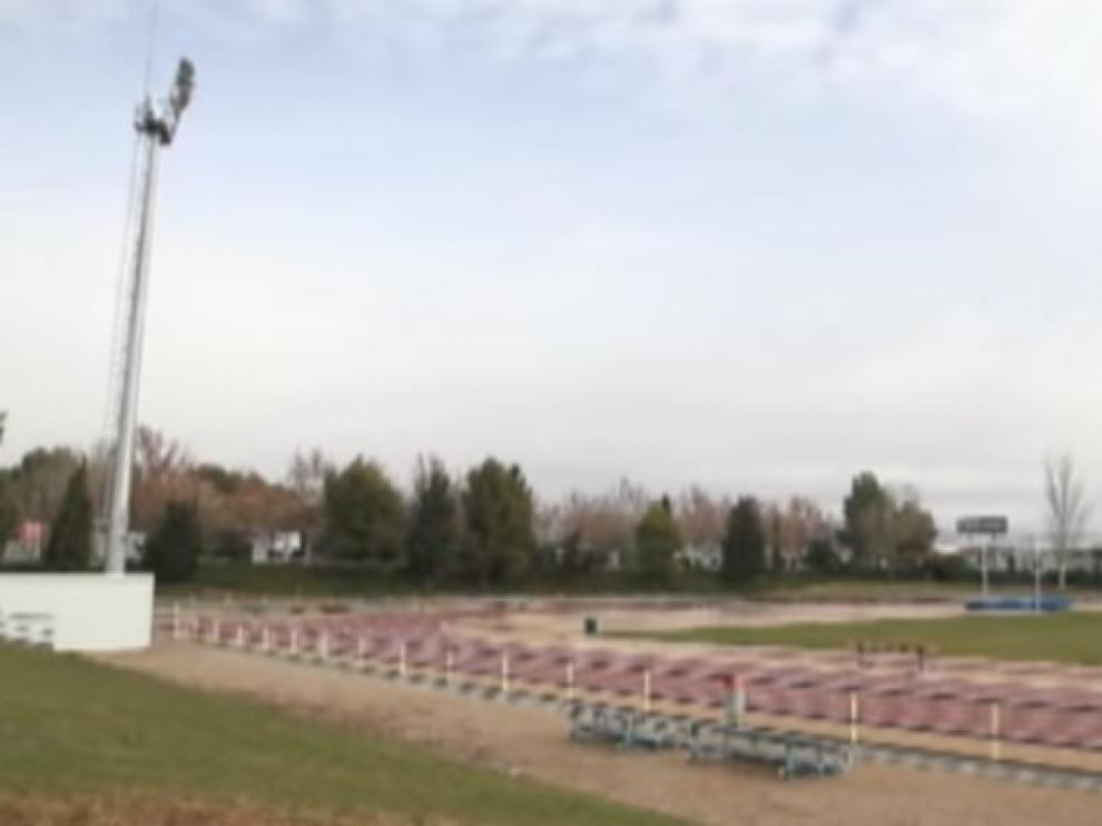 Las instalaciones al aire libre de la Ciudad Deportiva de Huesca reabren el lunes con cita previa
