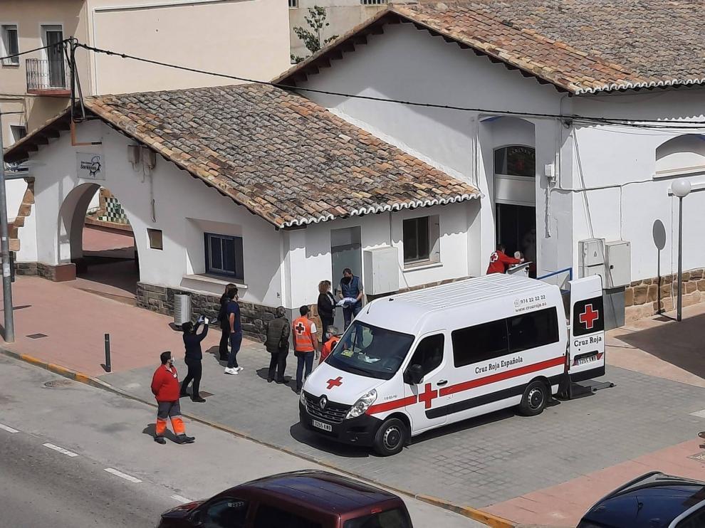 Sariñena cierra la casa habilitada para ancianos curados del coronavirus