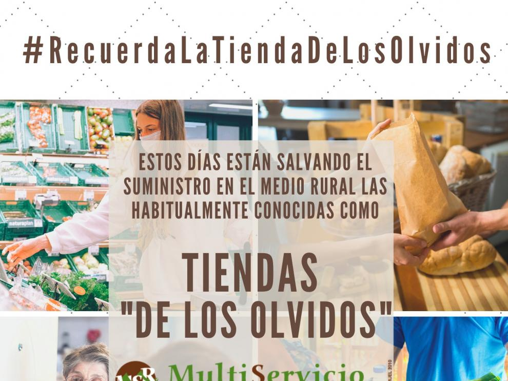 """La campaña """"Recuerda la tienda de los olvidos"""" busca sensibilización con las tiendas multiservicios rurales"""