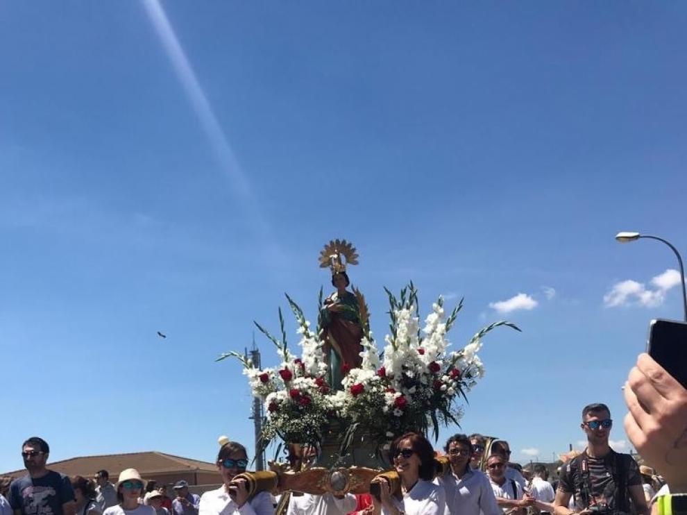 El sentimiento y el corazón de Tardienta siguen unidos a Santa Quiteria