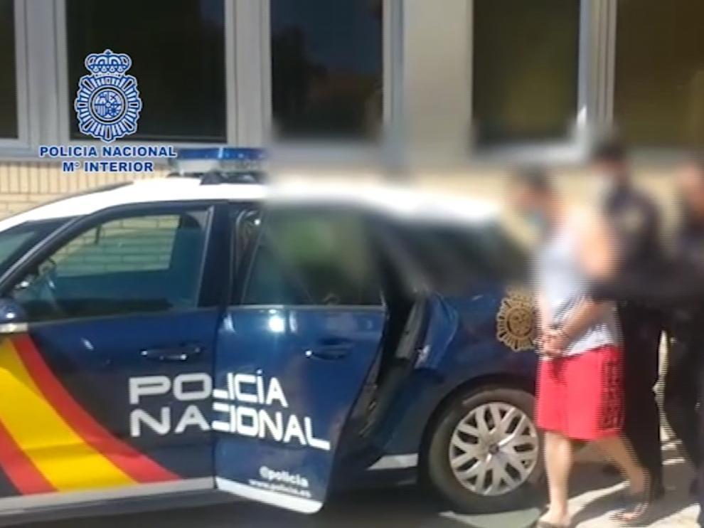 La Policía Nacional de Huesca detiene al autor de los tres robos cometidos la madrugada del lunes