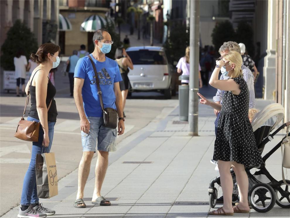 El 40 % de los nuevos contagios en Aragón se concentran en la provincia de Huesca