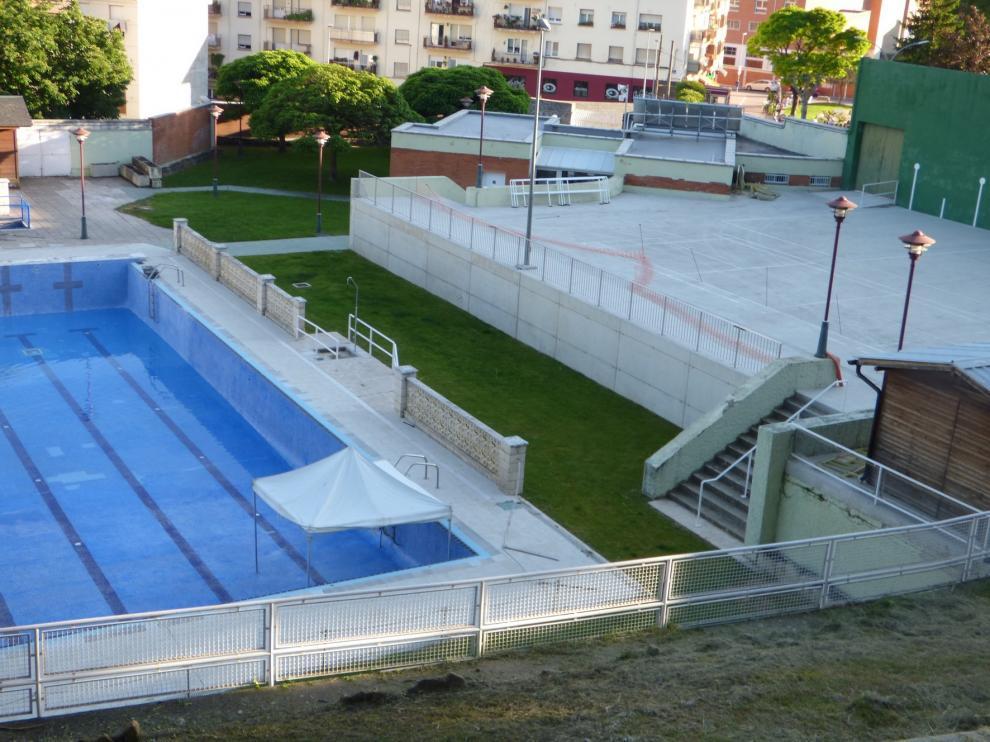 Las piscinas del parque ganan espacio y se favorece así el distanciamiento social