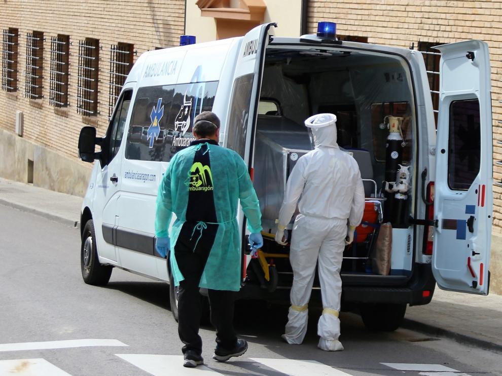 El Gobierno aragonés, en contra de recuperar ambulancias covid en Huesca