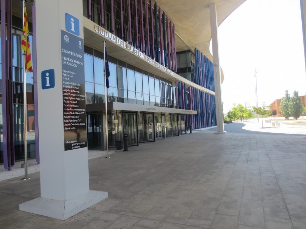 El Gobierno de Aragón avanza en dotar de seguridad a las sedes judiciales en el camino a la normalidad