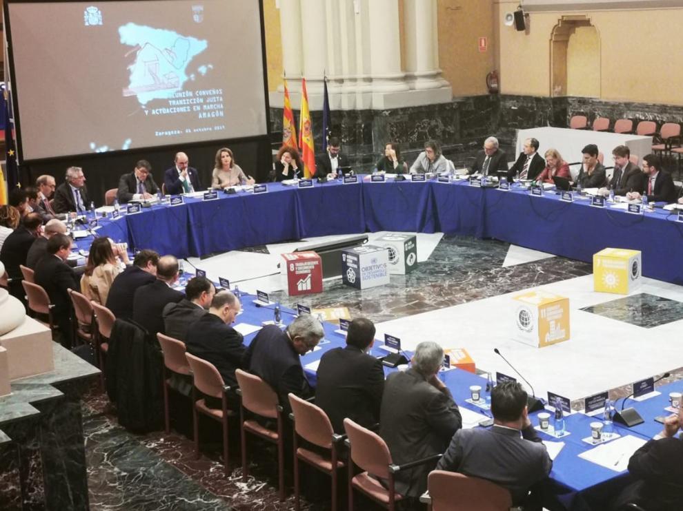 Se firma el protocolo del Convenio de Transición Justa