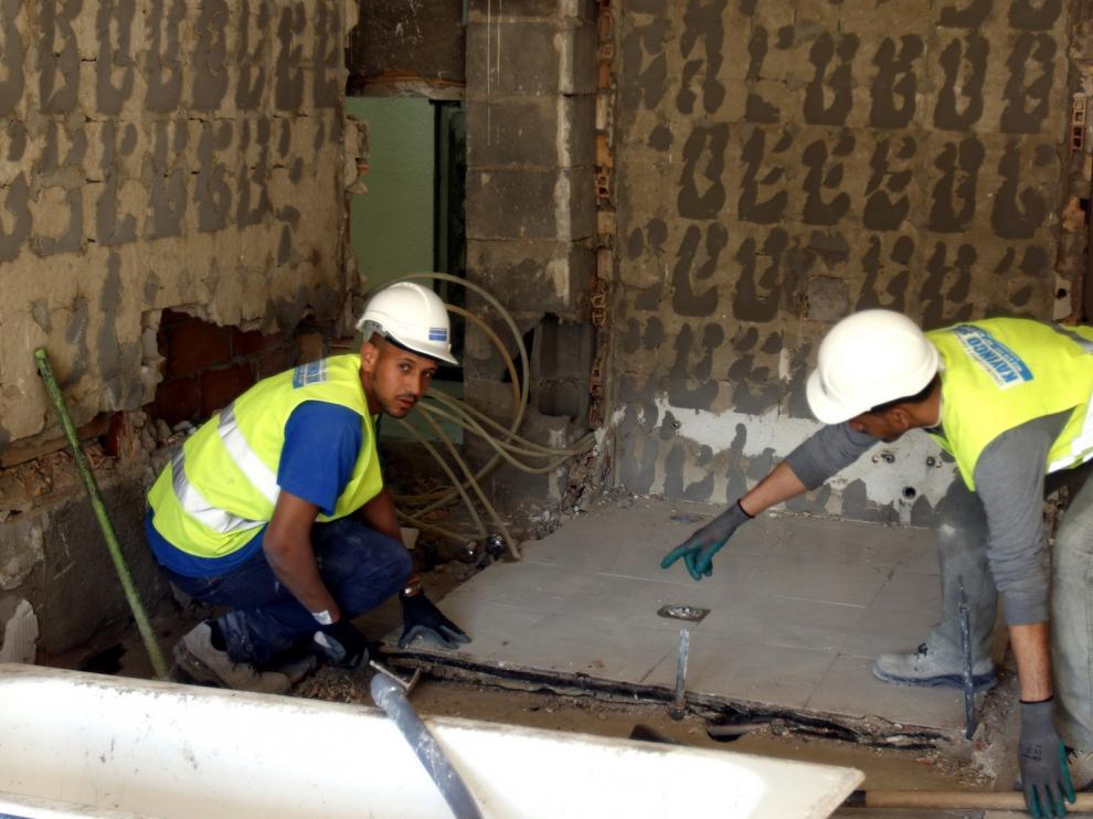 Se reanudan las actividades de reforma en edificios