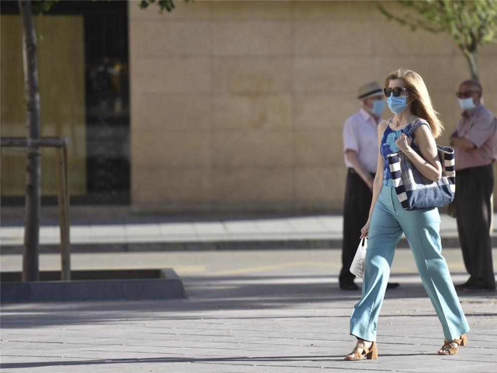 La provincia de Huesca suma 6 nuevos casos de covid y se reduce su incremento respecto al total de Aragón