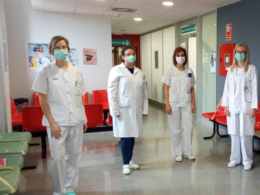 El Hospital Miguel Servet pone en marcha la consulta covid-piel