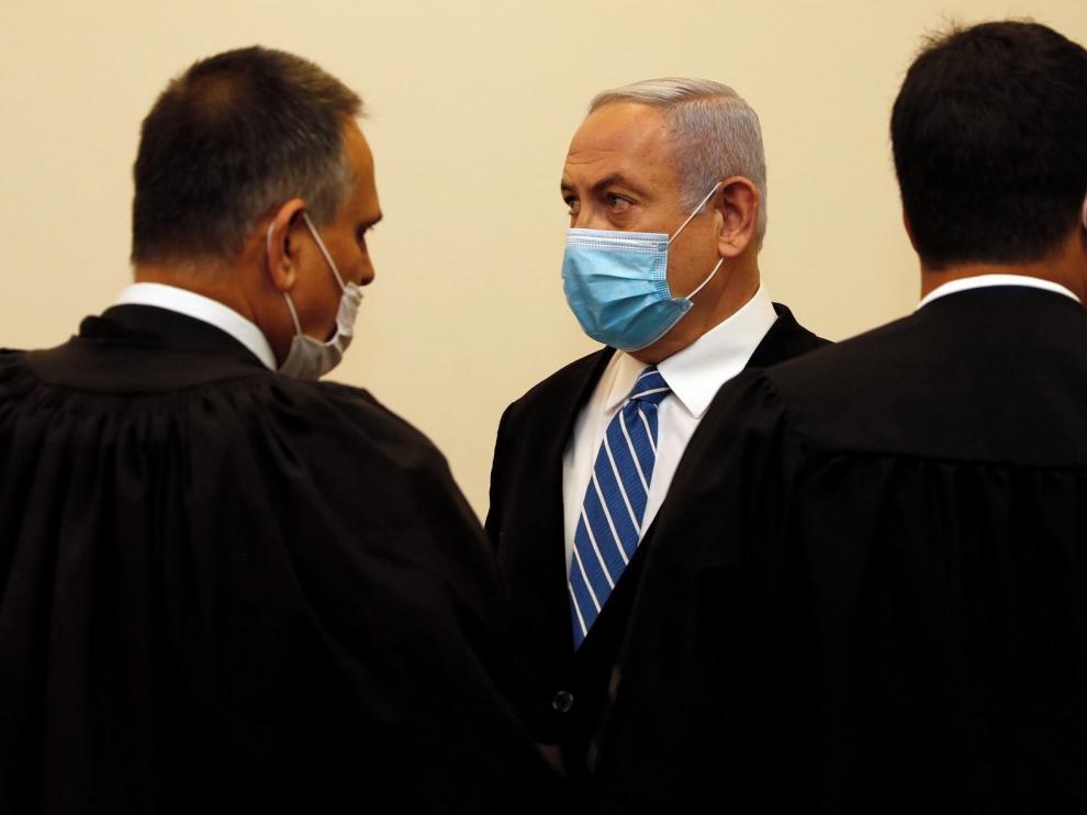 """Netanyahu denuncia que con su juicio se quiere """"derrocar al Gobierno"""""""
