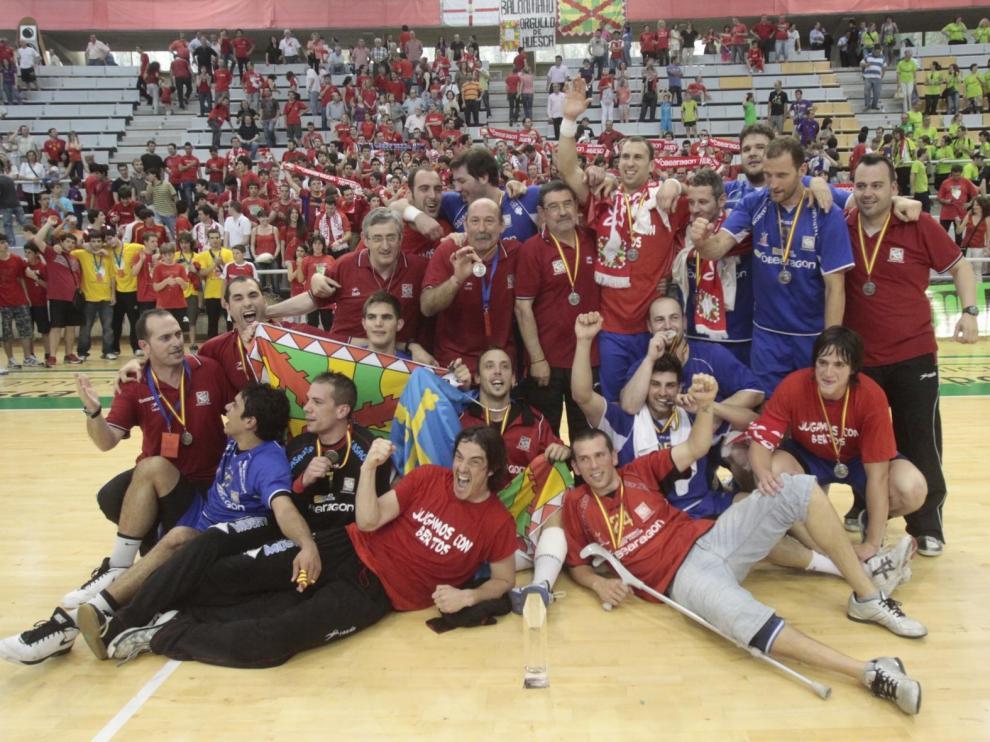 Se cumplen nueve años del día que todo cambió para BM Huesca