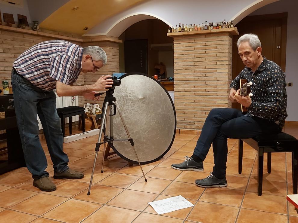 Olga y los Ministriles graba un videoclip