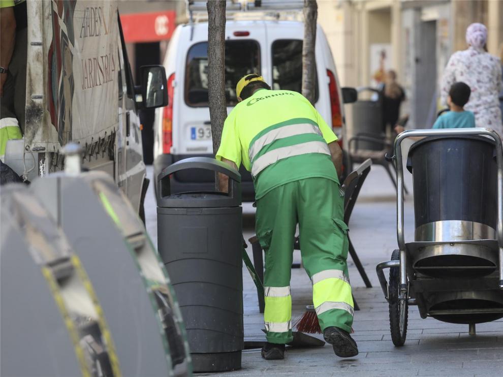 Con Huesca reclama la remunicipalización de limpieza viaria para apoyar el Plan Económico Financiero