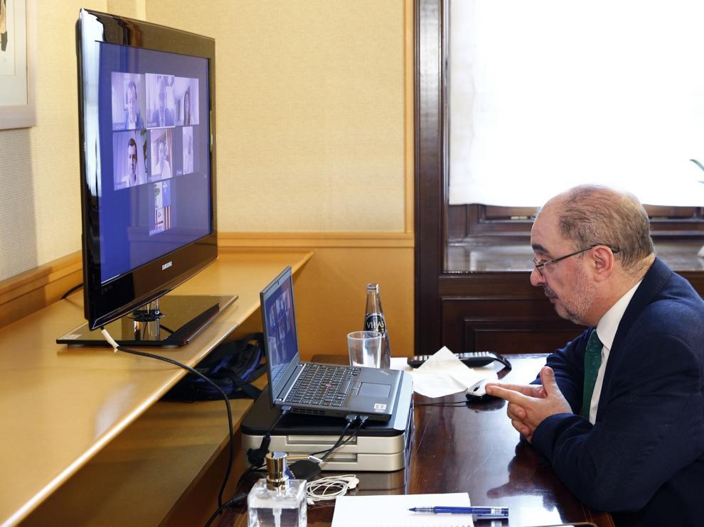 Aragón tendrá un acto unitario de recuerdo y homenaje a las víctimas de la pandemia y los profesionales