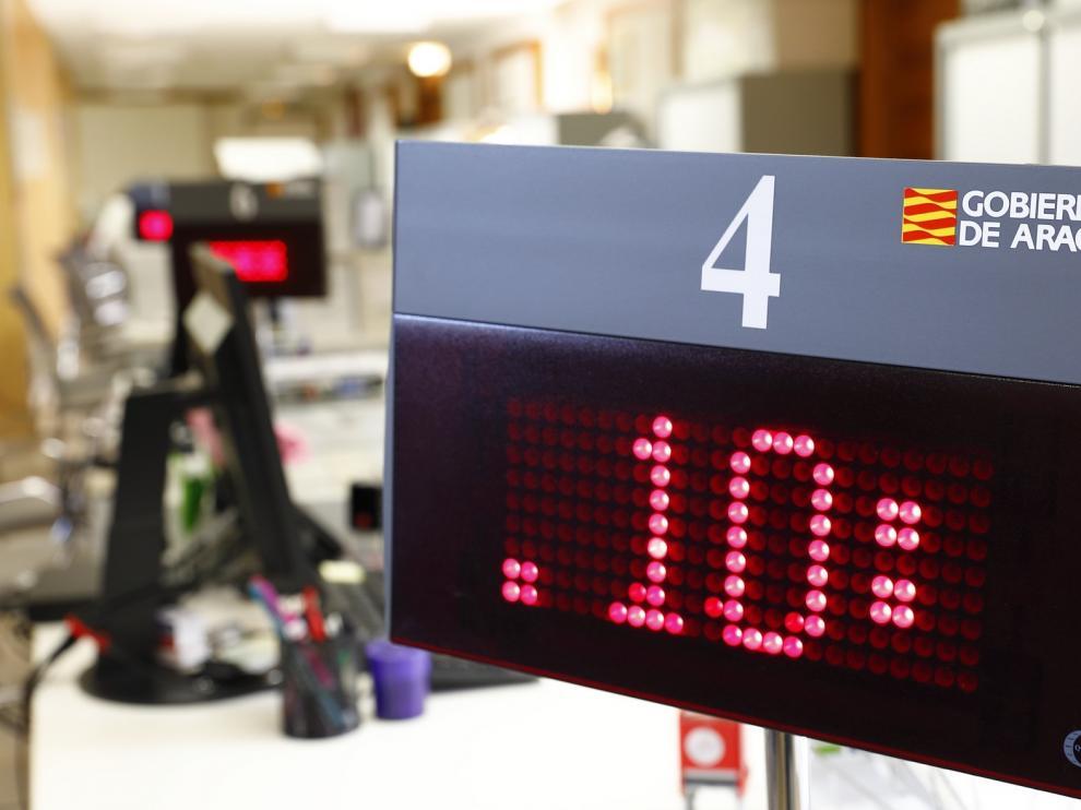 El Gobierno de Aragón recupera desde este martes la atención presencial en algunas oficinas del Registro