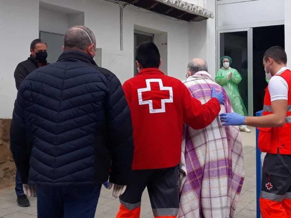 Cruz Roja ha trasladado a 311 pacientes en los últimos dos meses