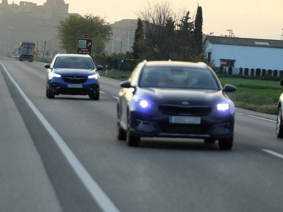Aragón, entre las que menos accidentes tiene en vías secundarias