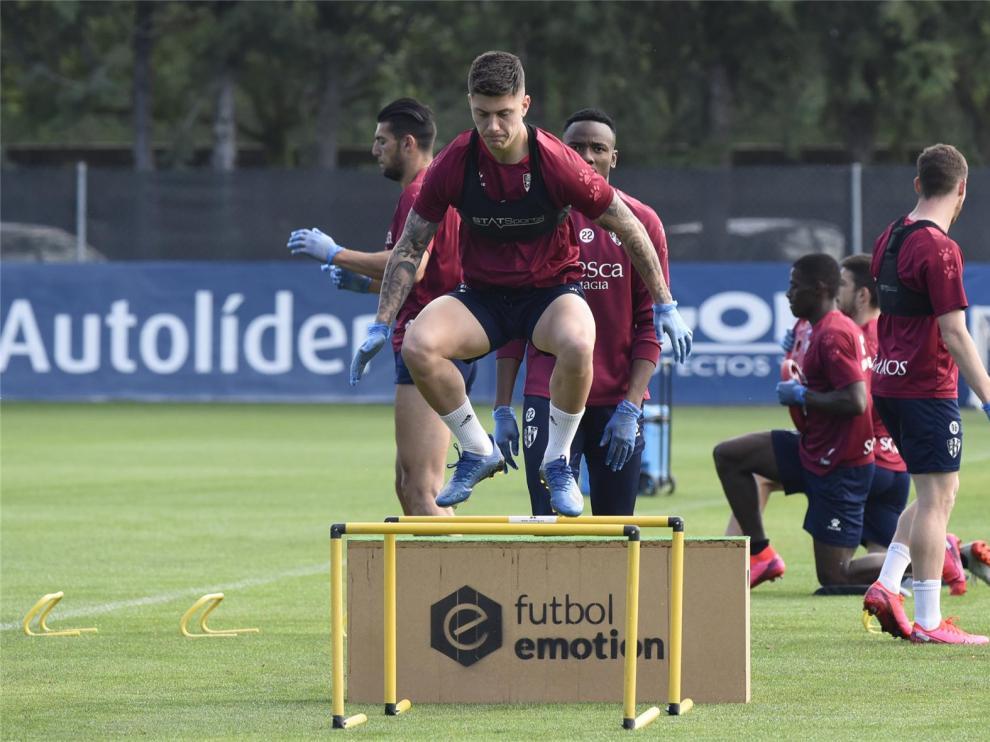 El Huesca mantiene la intensidad e introduce el vídeo