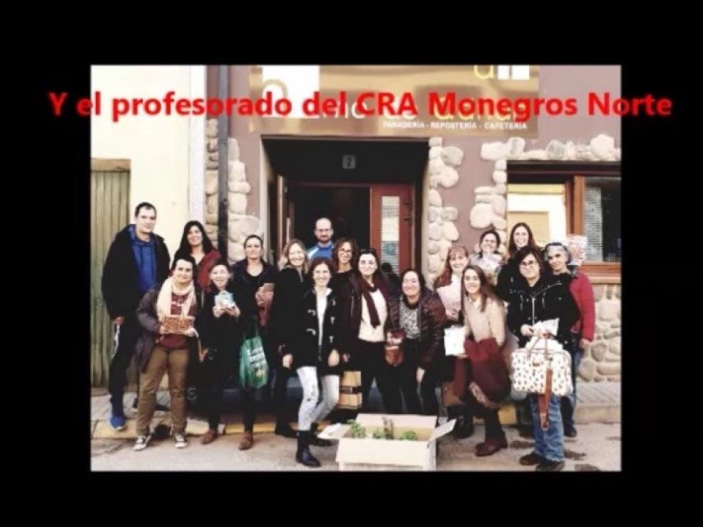 """El CRA Monegros Norte se ha unido al reto de """"Conquista la cima"""""""