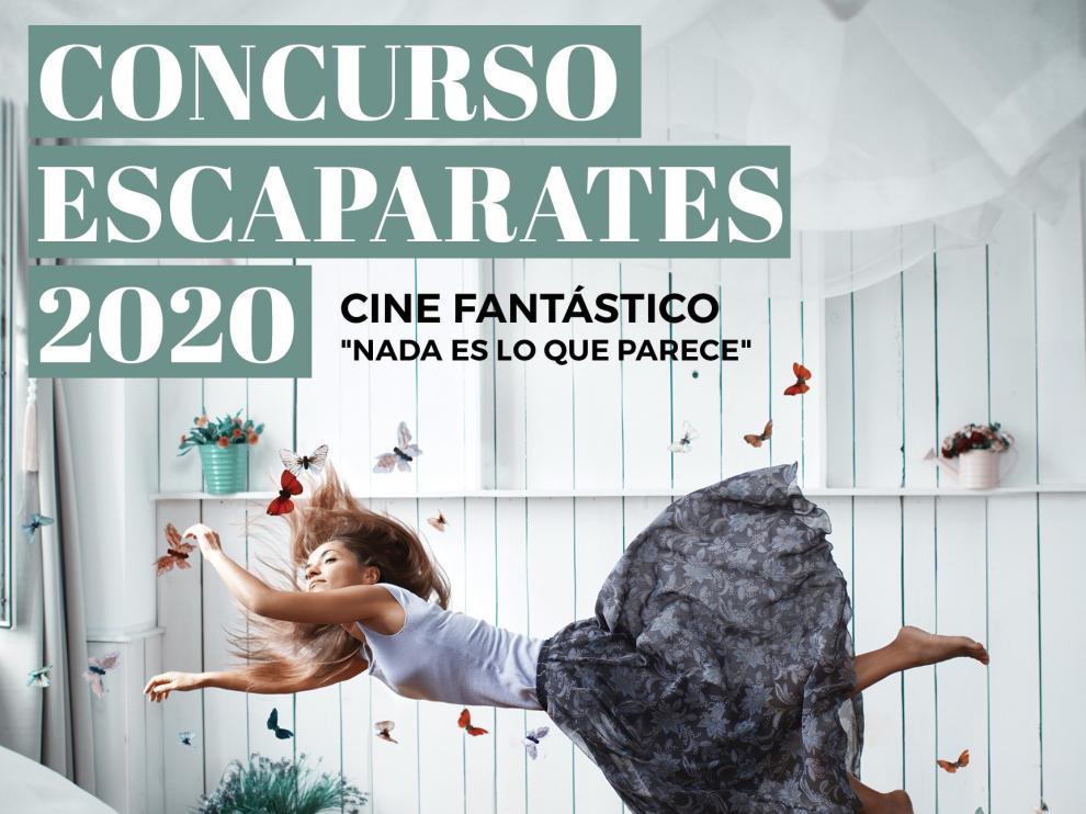"""Huesca convoca el Concurso de Escaparates """"Nada es lo que parece"""""""
