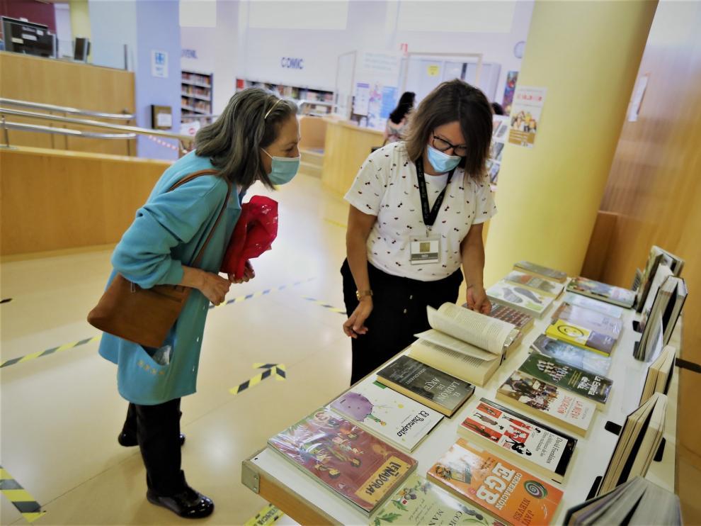 """Alicia Rey: """"La gente tenía muchas ganas de que se abrieran las bibliotecas"""""""