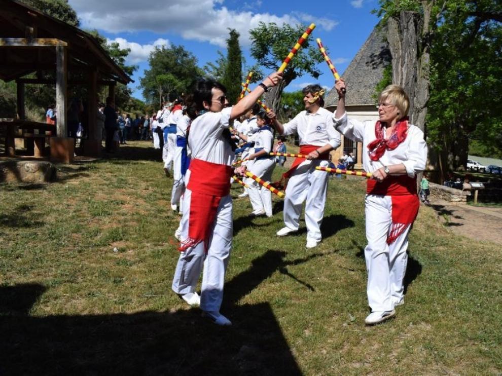 Benabarre se prepara para una fiesta diferente de San Medardo
