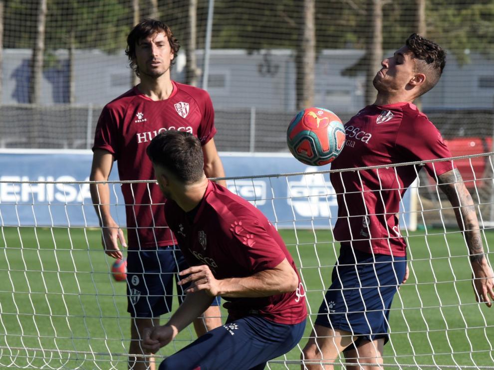 Los jugadores del Huesca ya han pasado las pruebas para la cuarta fase